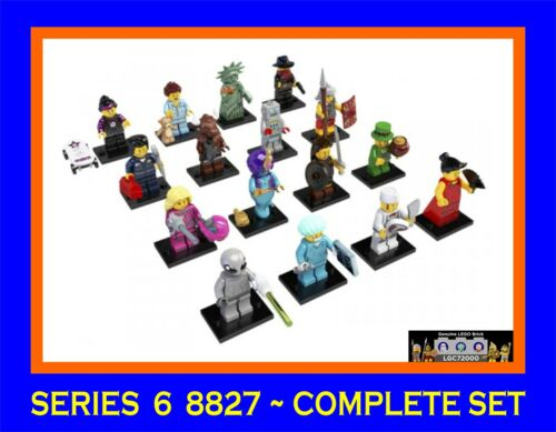 New Lego 8827 Complete set of 16 Minifigures Series 6 in Toys & Hobbies, Building Toys, LEGO | eBay