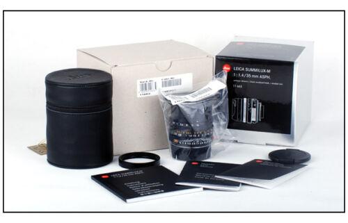 *New* Leica Summilux M 35mm f/1.4 ASPH Mark II 6-bit 11663 35 F1.4 in Cameras & Photo, Lenses & Filters, Lenses | eBay