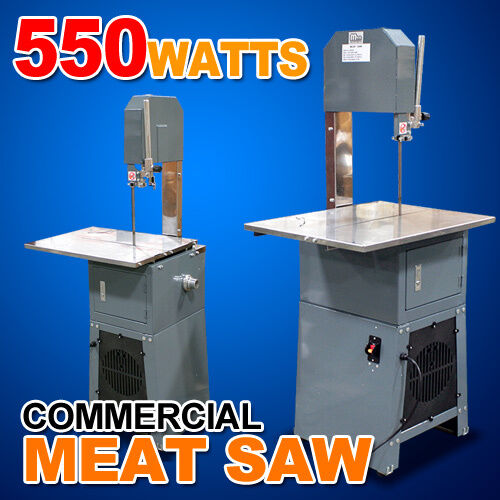 New Mtn Commercial 550W Electric Automatic Meat Bone Saw Slicer w Meat