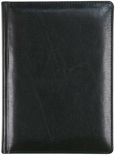 New Markings Bonded Genuine Leather Executive Writing Journal Black in Books, Accessories, Blank Diaries & Journals | eBay