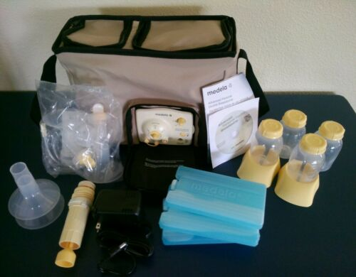 *New* Medela Advanced Personal Double Electric Breastpump Tote & Accessories in Baby, Feeding, Breastpumps | eBay