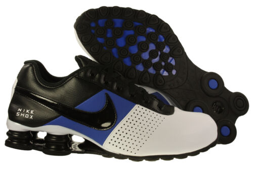 New Mens Nike Shox Deliver Running Shoes White/Black/Game Royal Blue Size 8 ~ 13 in Clothing, Shoes & Accessories, Men's Shoes, Athletic | eBay