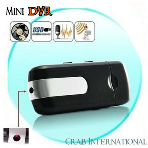 New Mini DVR U8 USB DISK HD Spy Camera Motion Detection Camera Video Recorder in Consumer Electronics, Home Surveillance, Digital Video Recorders, Cards | eBay