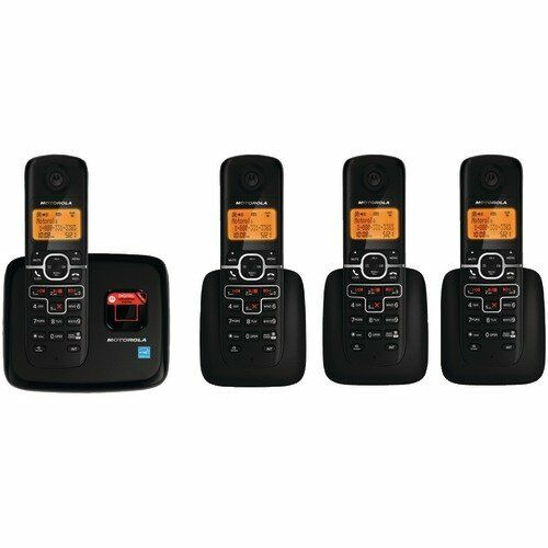 New Motorola L704 1.9 GHz Quadro Single Line DECT 6.0 Enhanced Cordless Phone in Consumer Electronics, Home Telephones, Cordless Telephones & Handsets | eBay