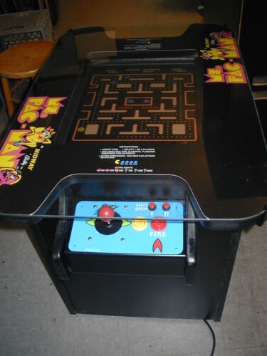 New Ms Pac man Galaga Pacman cocktail table video arcade game free shipping in Collectibles, Arcade, Jukeboxes & Pinball, Arcade Gaming | eBay