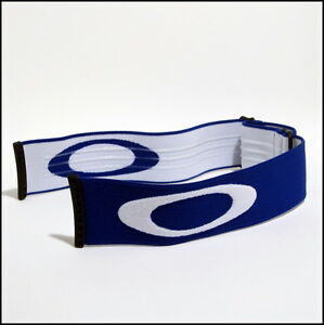 New Oakley Splice Snow Goggle Replacement Strap Blue w ...