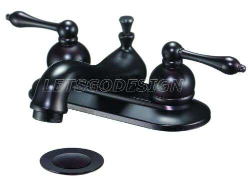 Delta Victorian Venetian Bronze 2 Handle Bathroom Sink Faucet 35955lf Rb Nib In Home Garden