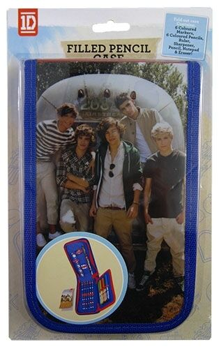 New One Direction 2 Crush Filled Pencil Case Stationery Gift in Clothing, Shoes & Accessories, Kids' Clothing, Shoes & Accs, Boys' Accessories | eBay