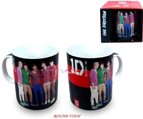 New One Direction Red And Black Stripe Mug Gift in Clothing, Shoes & Accessories, Kids' Clothing, Shoes & Accs, Boys' Accessories | eBay