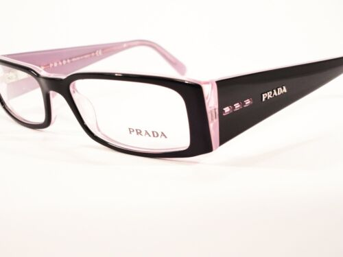 New PRADA glasses spectacles frames PR 10FV,Black Pink
