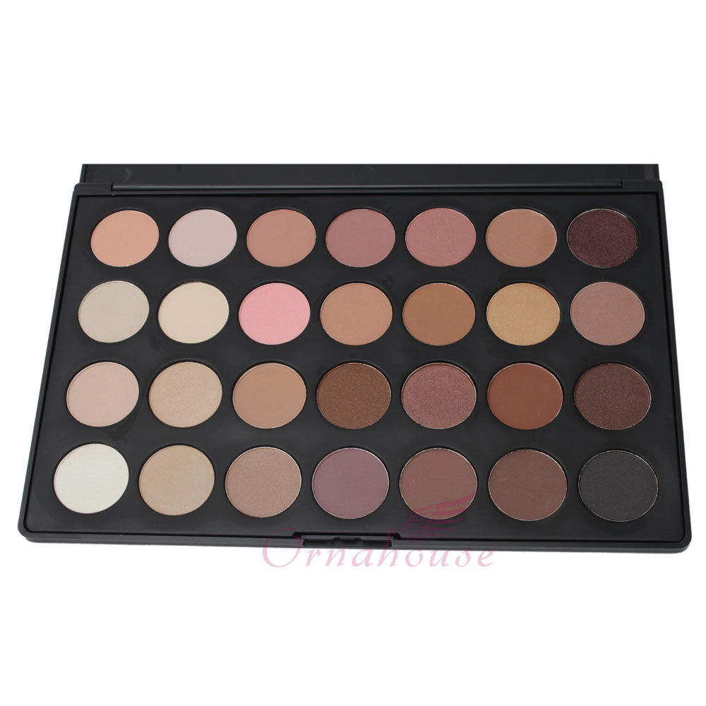 New PRO 28 Color Neutral Warm Eyeshadow Palette Eye Shadow Makeup #39