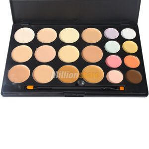 Eyeshadow Palette on New Palette 20 Colors Professional Concealer Camouflage Makeup Black