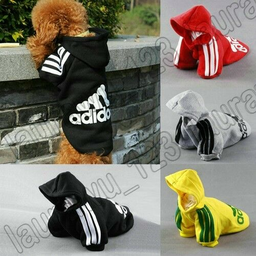 New Pet Puppy Dog Cat Coat Clothes Hoodie Sweater T-Shirt Free Shipping in Pet Supplies, Dog Supplies, Clothing & Shoes | eBay