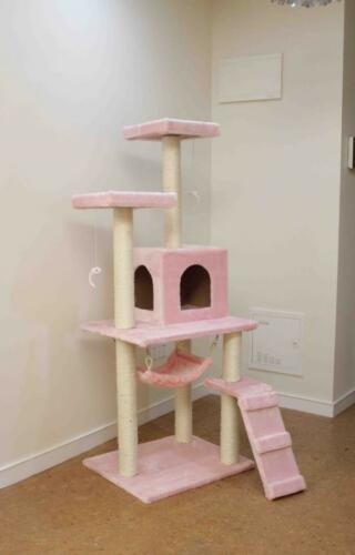 "New Pink 57"" Cat Tree Condo Furniture Scratch Post Pet House in Pet Supplies, Cat Supplies, Furniture & Scratchers 