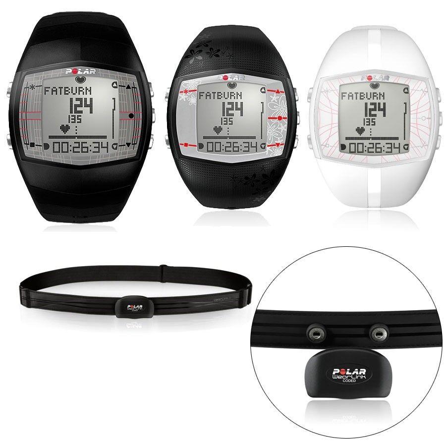 New Polar FT40 Fitness Heart Rate Monitor Mens Black Womens Black