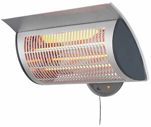 How To Light Your Wall Heater : New PremIAir Waterproof Wall Mountable Outdoor Garden Patio Light Heating Heater eBay