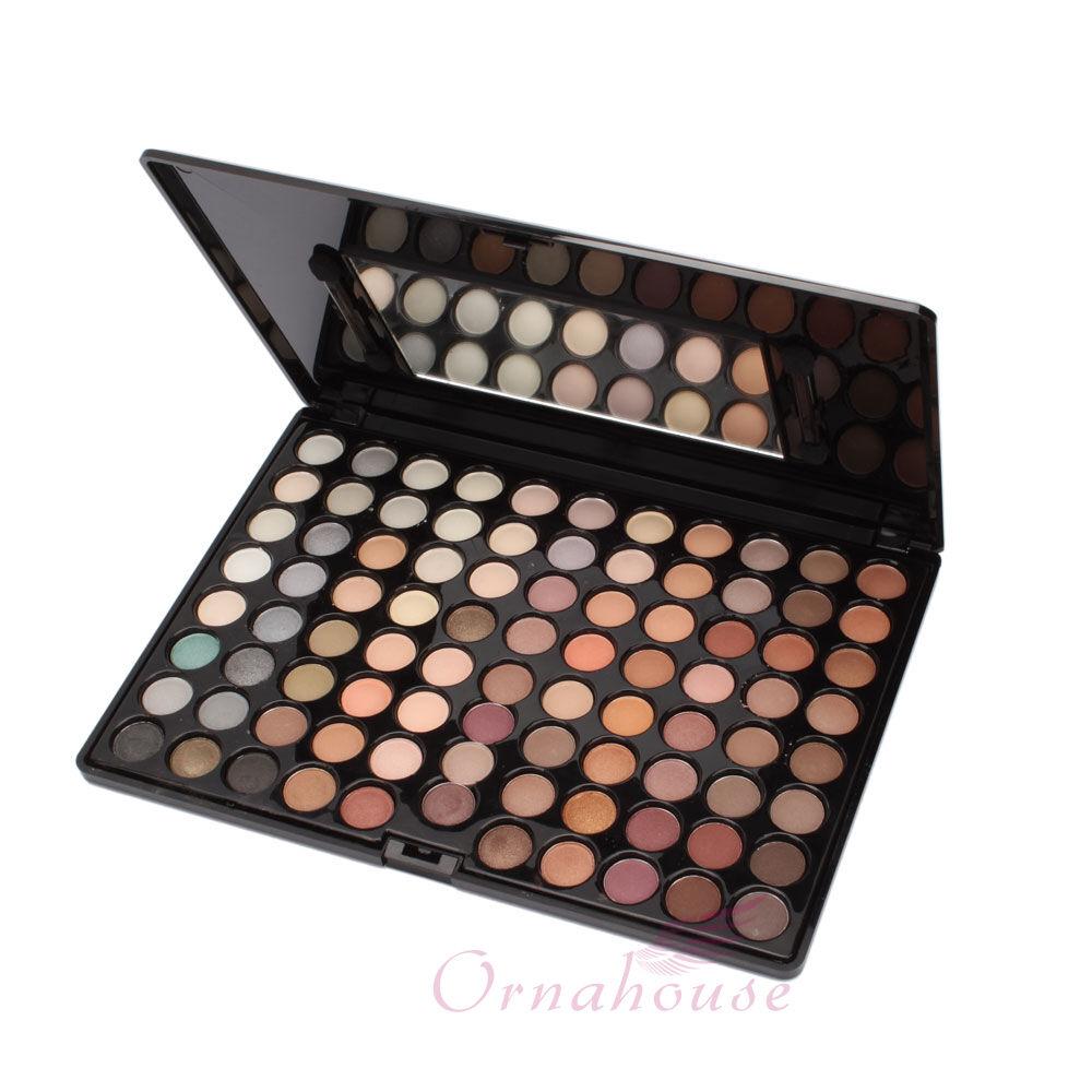 New Pro 88 Full Color Makeup Warm Eyeshadow Palette Eye Shadow