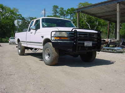 New Ranch Style Front Bumper 92-98 Ford F250 F350