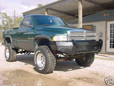 New Ranch Style Front Bumper 94-01 Dodge Ram