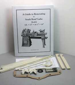 "New! Rebuild Book & Parts Kit for 13"" South Bend Lathe in Business & Industrial, Manufacturing & Metalworking, Metalworking Tooling 