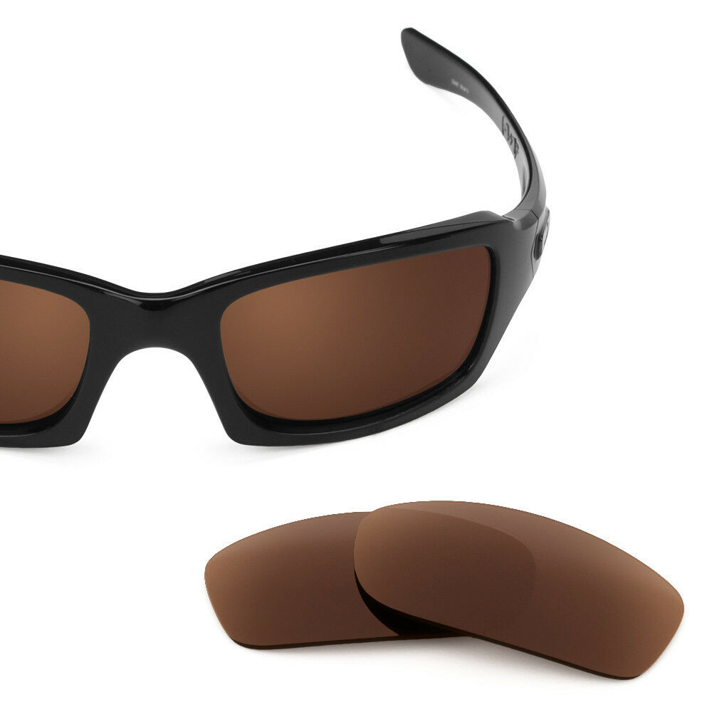 5007b708e00 New Revant Polarized Bronze Brown Replacement Lenses for Oakley Fives  Squared