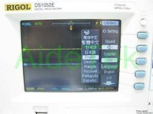 New-Rigol-Digital-Oszilloskop-50MHz-DS1052E-50Mhz-1-G-sample-rate-w-3-yrs-Wa-R
