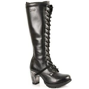 new rock schuhe damen stiefel boots schuhe gothic m tr005 s1. Black Bedroom Furniture Sets. Home Design Ideas