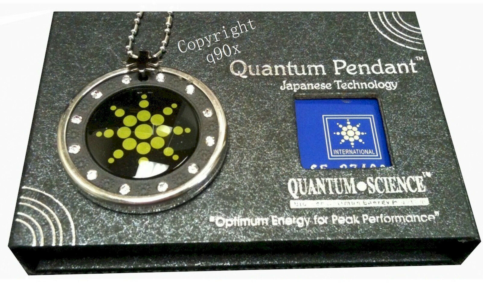 New scalar energy pendant quantum nano science japanese technology does not apply aloadofball Choice Image