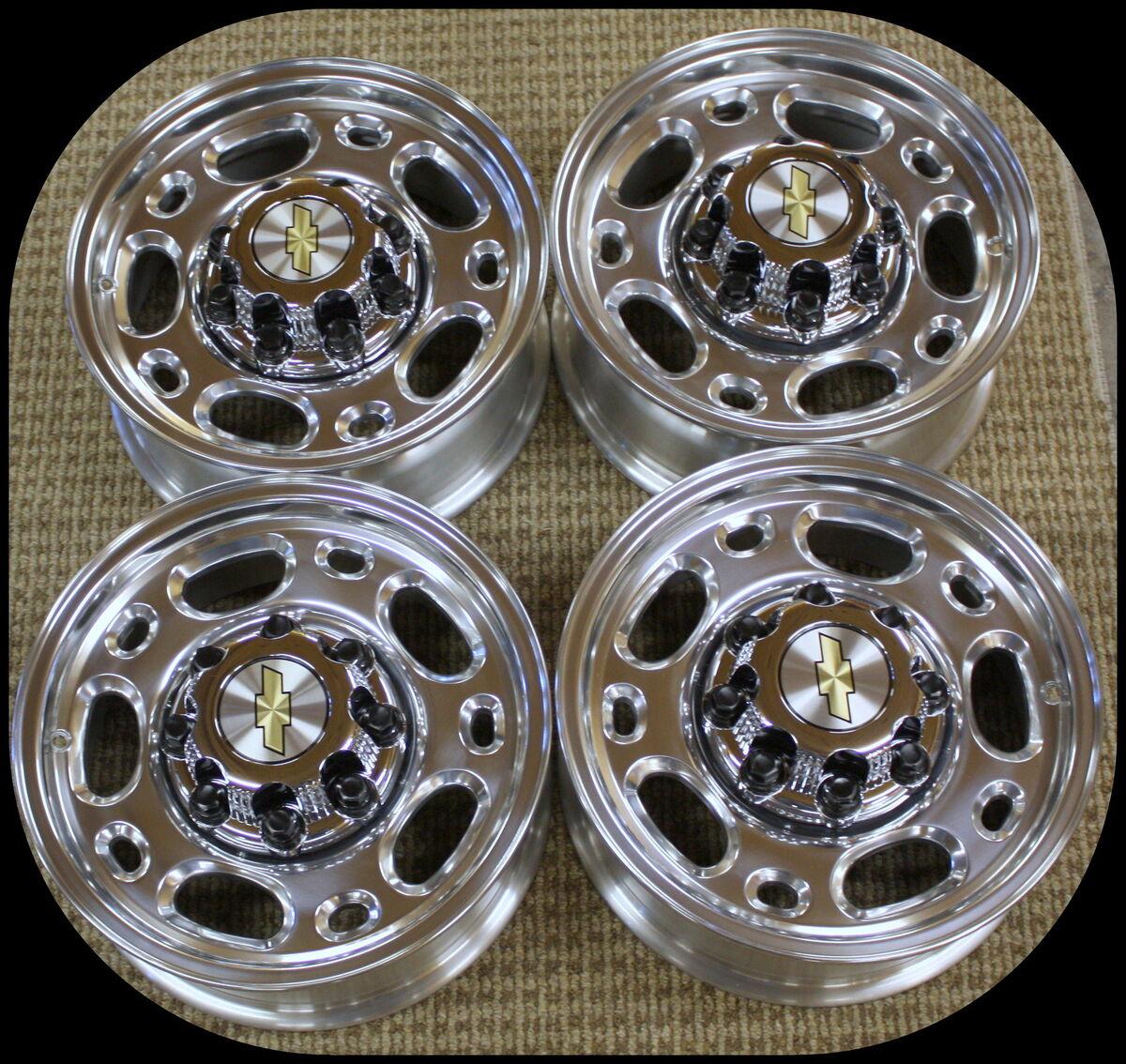 "New Set Chevy Silverado GMC Sierra 16"" 8 Lug Alloy Wheels Rims 2500 HD Duramax"