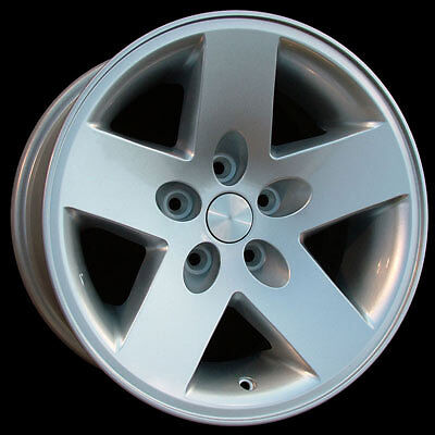 "New Set of 5 Alloy Wheels Rims 16"" 16x8"" Fits Jeep Wrangler Rubicon Cherokee"