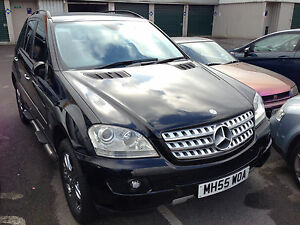 New Shape Mercedes ML 350 SPORT AUTO BLACK No reserve | eBay