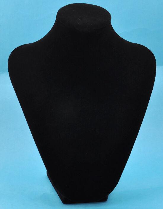 Black Velvet Jewelry Display