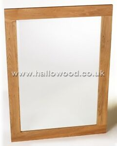 Creative Mission Oak Framed Beveled Mirror  Traditional  Bathroom Mirrors