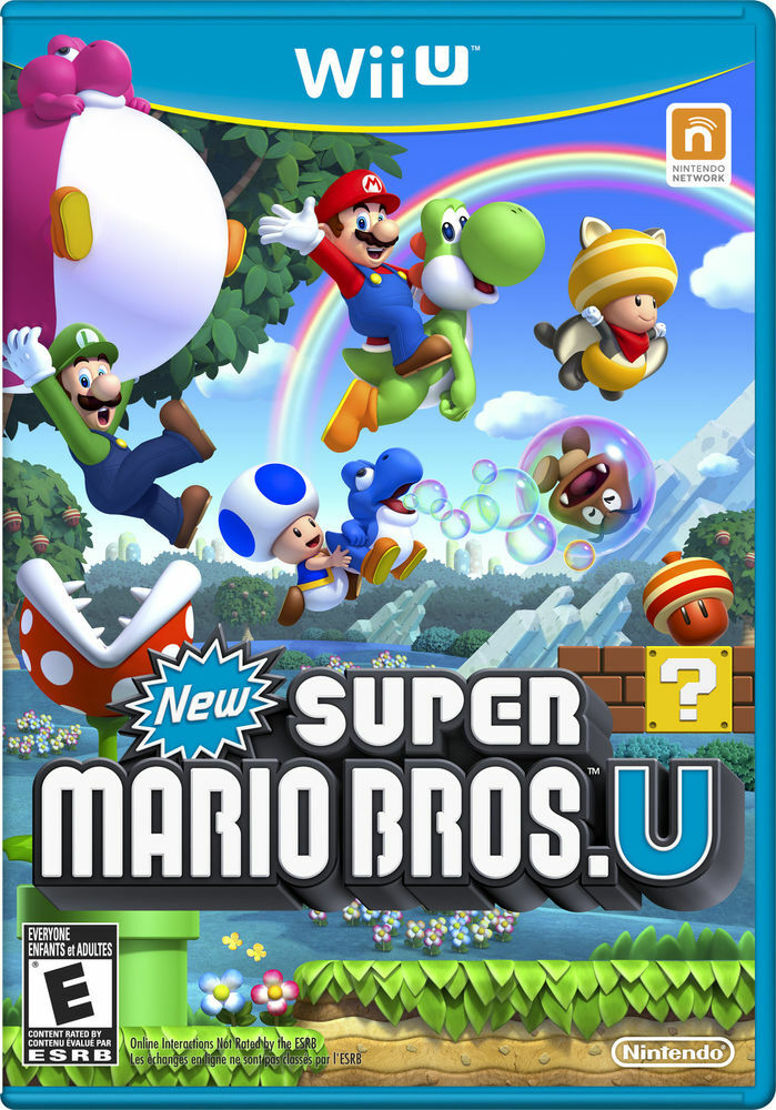 New Super Mario Bros U for USA Canada Wii U Consoles Only New 2012