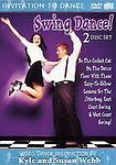 New---Swing Dance ( DVD, 2003, Includes Bonus Audio CD) with Kyle and Susan Webb