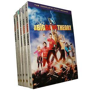 New The Big Bang Theory Seasons 1-5 1 2 3 4 5 BOX SET in DVDs & Movies, DVDs & Blu-ray Discs | eBay