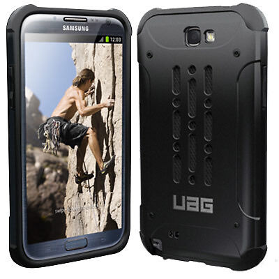 New UAG Black Urban Armor Gear Cover Case for Samsung Galaxy Note 2 II N7100 in Cell Phones & Accessories, Cell Phone Accessories, Cases, Covers & Skins | eBay