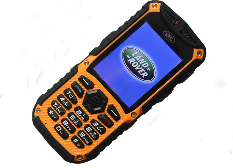 New Unlocked Landrover XP5300 Cell Phone Water Proof GSM Dual Sim Smartphone ORG