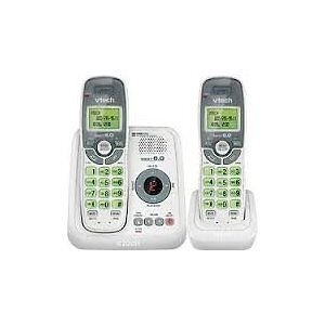 New V-Tech CS6124-2 2 Handset Cordless Home Telephone System White DECT 6.0 in Consumer Electronics, Home Telephones, Cordless Telephones & Handsets   eBay