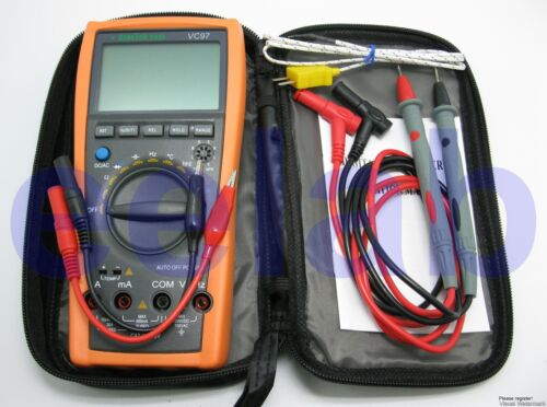 New VC97+ 3999 Auto range multimeter AC DC R C F Temp in Business & Industrial, Electrical & Test Equipment, Test Equipment | eBay