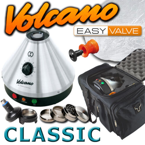 New Volcano Classic Vaporizer w/ Solid or Easy Valve Starter Set + FREE VapeCase in Consumer Electronics, Gadgets & Other Electronics, Other | eBay