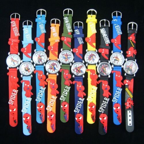 New Wholesale 10pcs spider-man 3D children watch Gift in Crafts, Wholesale Lots, Other | eBay