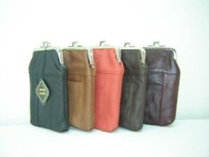 New Womens Tall Genuine Leather Cigarette Cases Many Colors in Clothing, Shoes & Accessories, Women's Accessories, Other | eBay