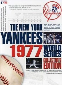 The New York Yankees 1977 World Series C...