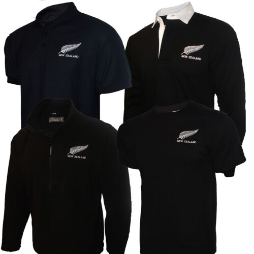New Zealand All Blacks Rugby Shirt Mens Kiwis Style/Fleece/ Tee ...