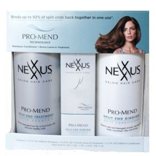 Nexxus Pro Mend 3 Pack Shampoo Conditioner and Leave In Treatment in Health & Beauty, Hair Care & Styling, Shampoo & Conditioning   eBay