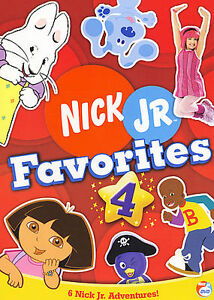 Nick Jr. Favorites - Vol. 4 (DVD, 2006)