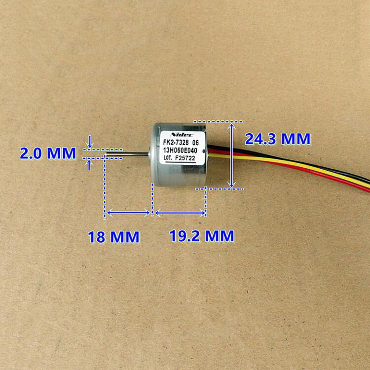Nidec 13H186A DC6-24V CW Inner Rotor Micro Brushless DC Motor Built-in Driver FY