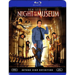 Night at the Museum (Blu-ray Disc, 2009,...