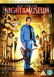 Night At The Museum (DVD, 2007, 2-Disc S...